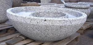 Вазон бетонный Плато