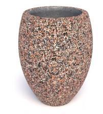 Вазон бетонный Призма