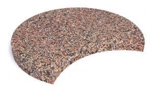 Плитка бетонная тротуарная с выемкой 50х5 см