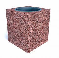 Урна бетонная Квадро