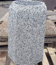 Урна бетонная Прага с крошкой из камня