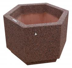 Вазон из бетона Доминик
