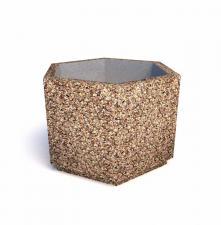 Вазон бетонный Доминик