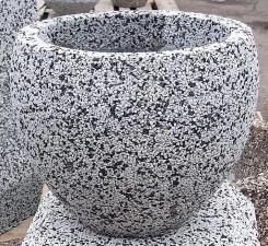 Вазон Бэлли бетонный с крошкой