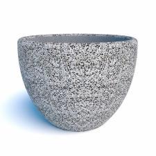 Вазон бетонный Магдалена с крошкой из камня