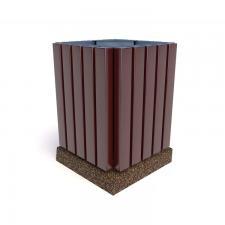 Урны бетонные деревянные Авиньон 42х60
