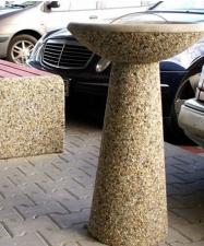 Урна для окурков из бетона