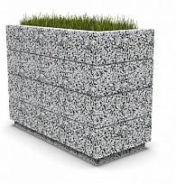 Вазон бетонный Бар 100