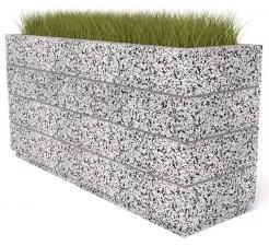 Вазон бетонный Бар 130
