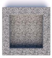 Вазон бетонный Византия 60
