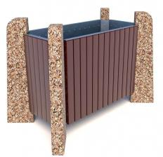 Вазон бетонный Нест 80