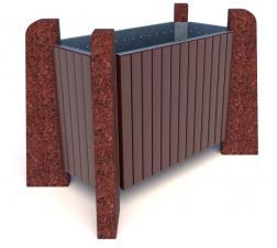 Вазон бетонный Нест 100