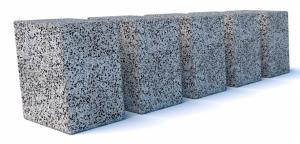 Парковочное ограждение бетонное Пиза