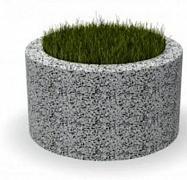 Вазон бетонный Лиссабон 50
