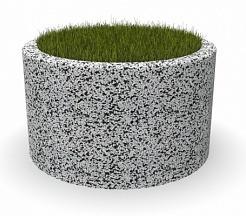 Вазон бетонный Люксембург 125