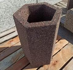 Вазон бетонный Алива
