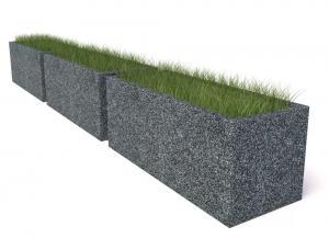 Комплект бетонных вазонов Сития Трио