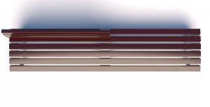 Скамейка металлическая  Campus Line СПЛ