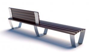 Скамейка металлическая  Campus Line СПП
