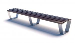 Скамейка металлическая Campus Line