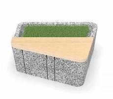 Скамейка бетонная UNI SSL
