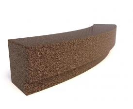 Скамейка ТЕМПO-4024 с бетонным основанием