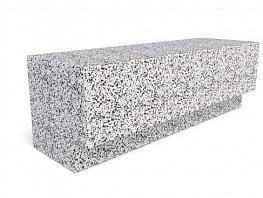 Скамейка ТЕМПO-1500 с бетонным основанием