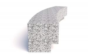 Скамейка ТЕМПO-5799R с бетонным основанием
