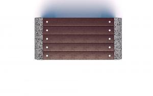 Скамейка бетонная Евро 1 Эго