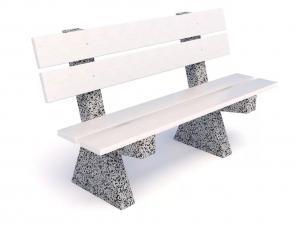 Скамейка бетонная Евро Урбан