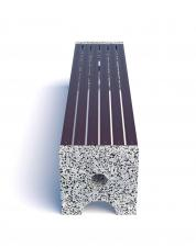 Скамейка бетонная Альфа