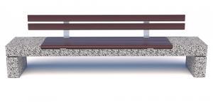 Скамейка бетонная Блокфилд СП