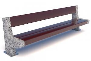 Скамейка бетонная Черчиль