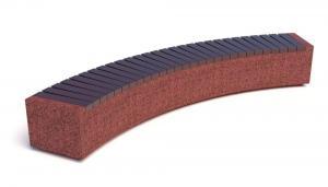 Скамейка бетонная Темп Арка