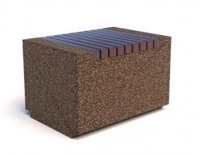Скамейка бетонная Темп Стул
