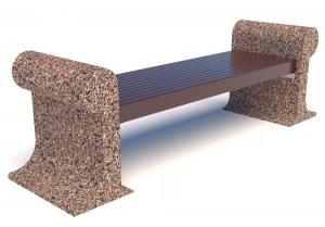 Скамейка бетонная Афины