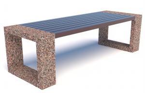 Скамейка бетонная Румба