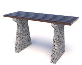 Стол бетонный уличный ЕвроУрбан