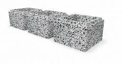 Блок для забора бетонный столбовой 300х300x200 мм