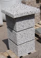 Навершие столба бетонное 400х400x120 мм