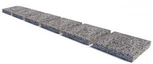 Навершие столба бетонное 500х500x120 мм